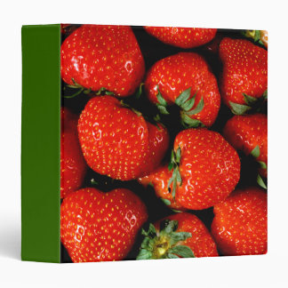 Fresh Strawberries Binder