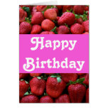 Fresh Strawberries Greeting Card