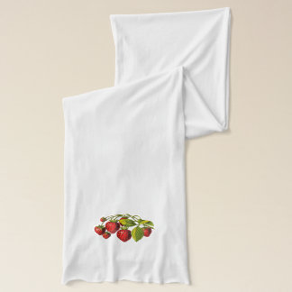 Fresh Strawberries Scarf