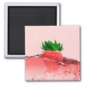 Fresh Strawberry Magnet