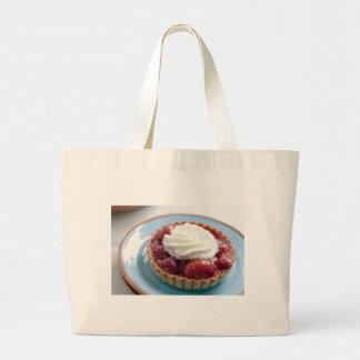 Fresh Strawberry Tart Cloth Shopping Bag