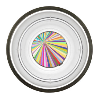 Fresh striped background bowl