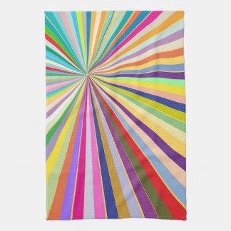 Fresh striped background towel