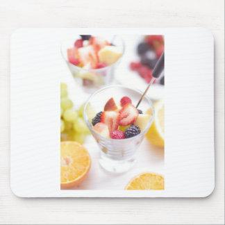 Fresh Summer Fruit Salad Mouse Pad