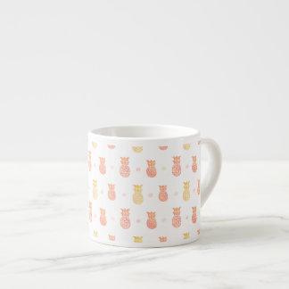 Fresh Summer Pineapple Espresso Cup