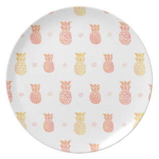 Fresh Summer Pineapple Plate
