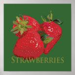 Fresh Summer Strawberries Print