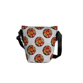 Fresh Sushi Platter (Add Background Color) Courier Bag