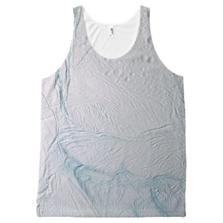 Fresh Tiger Stripes on Enceladus All-Over-Print Tank Top