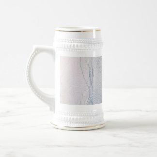 Fresh Tiger Stripes on Enceladus Coffee Mug