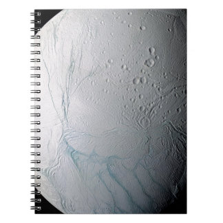Fresh Tiger Stripes on Enceladus Notebook