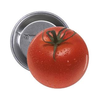Fresh Tomato 2 Inch Round Button