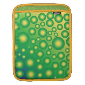 Fresh tropical bubbles iPad sleeve