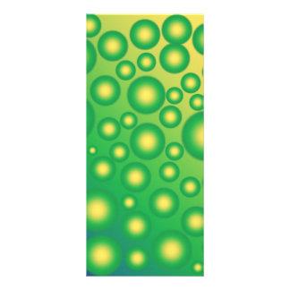 Fresh tropical bubbles rack card