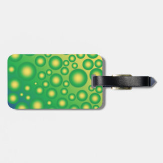 Fresh tropical bubbles tag for luggage