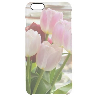 Fresh Tulips Clear iPhone 6 Plus Case