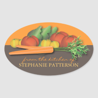 Fresh Vegetable From the Kitchen Of Sticker