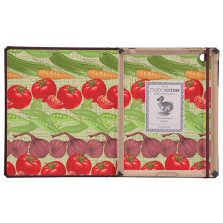 Fresh Vegetable Pattern Covers For iPad