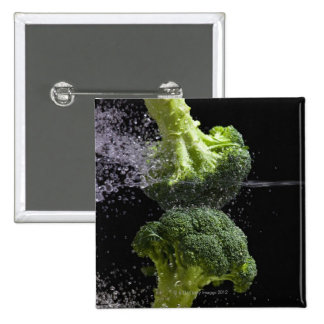 fresh vegetables & food hygiene button