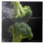 fresh vegetables & food hygiene tile