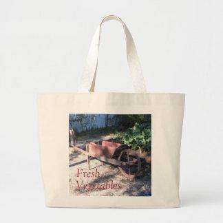 Fresh Vegetables Jumbo Tote Bag