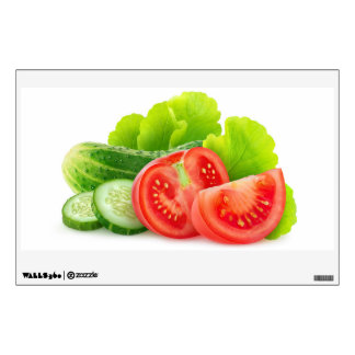 Fresh vegetables wall decal