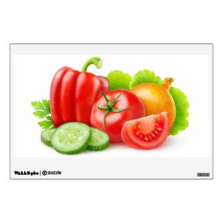 Fresh vegetables wall sticker