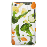 Fresh vegetables with water falling into a bowl iPod touch cover