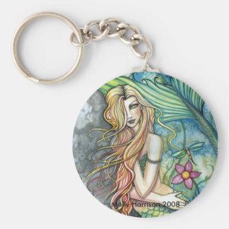 Fresh Water Mermaid Keychain