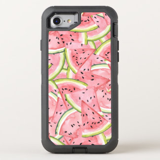 Fresh Watermelon Summer Cooler OtterBox Defender iPhone 8/7 Case