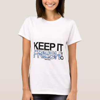 FRESH; white - girls. T-Shirt