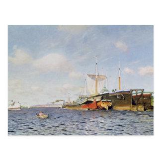 Fresh Wind on the Volga, 1895 Postcard