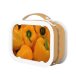 fresh yellow pepper lunchboxes