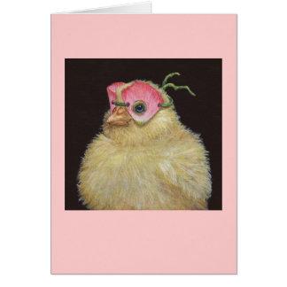 Freshie the peep card