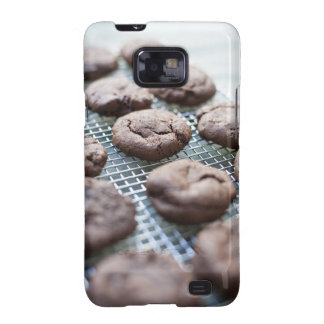 Freshly Baked Gluten-free Chocolate Cookies Galaxy S2 Covers