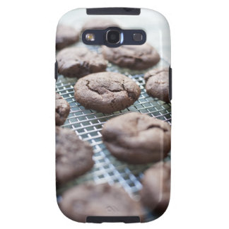 Freshly Baked Gluten-free Chocolate Cookies Galaxy SIII Cover
