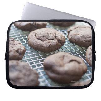 Freshly Baked Gluten-free Chocolate Cookies Computer Sleeve