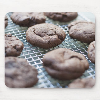 Freshly Baked Gluten-free Chocolate Cookies Mouse Pad