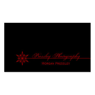 Freshly Clean Starburst Business Card, Red Double-Sided Standard Business Cards (Pack Of 100)