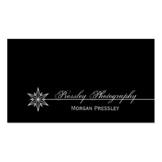 Freshly Clean Starburst Business Card, White Double-Sided Standard Business Cards (Pack Of 100)