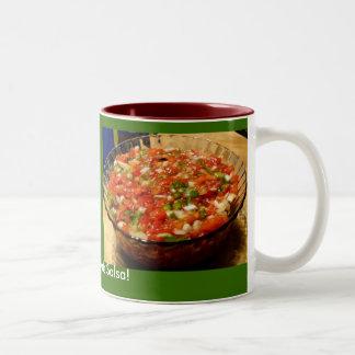 Freshly Made Salsa Two-Tone Coffee Mug