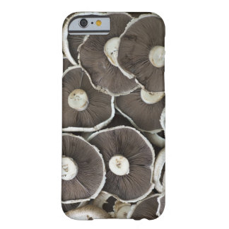 Freshly picked Portobello field mushrooms on Barely There iPhone 6 Case