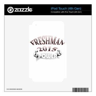 Freshman 2015 Image iPod Touch 4G Skin