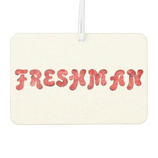 Freshman Air Freshener