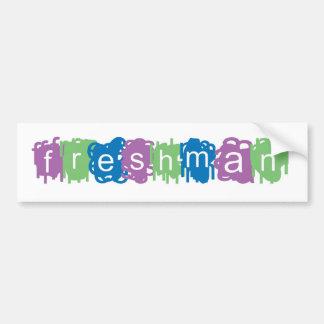 Freshman Bumper Sticker