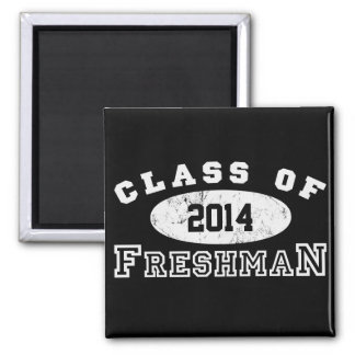 Freshman Class Of 2 Inch Square Magnet