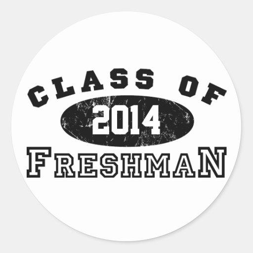 Freshman Class Of Stickers