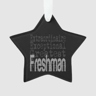 Freshman Extraordinaire Ornament