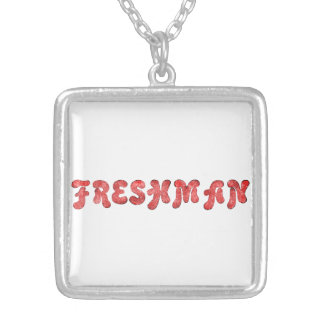 Freshman Silver Plated Necklace