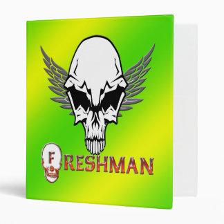 Freshman - Skull Wings Binder
